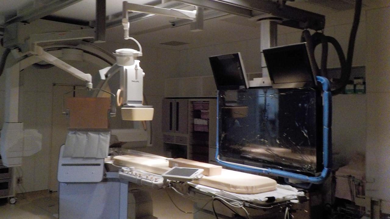 秋田厚生医療センター血管造影撮影装置