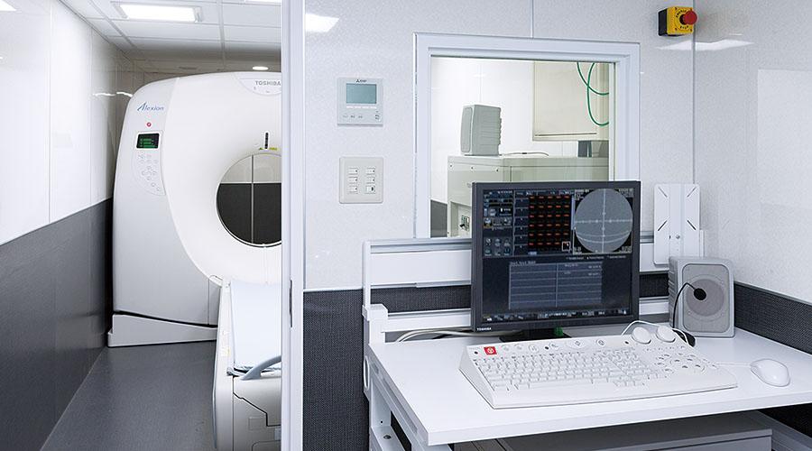 CTとオペレーションルーム