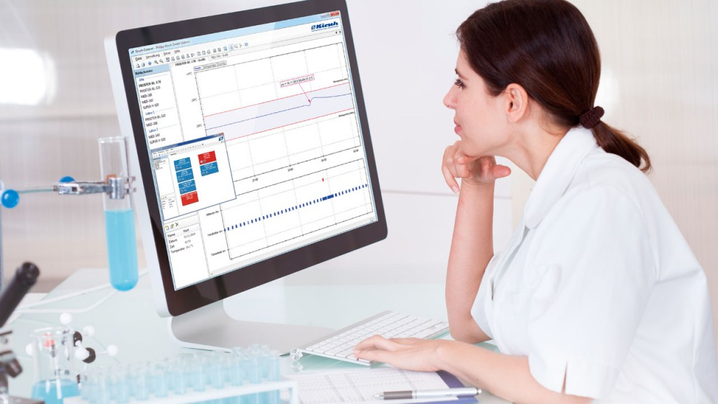 キリッシュ温度管理パソコンイメージ