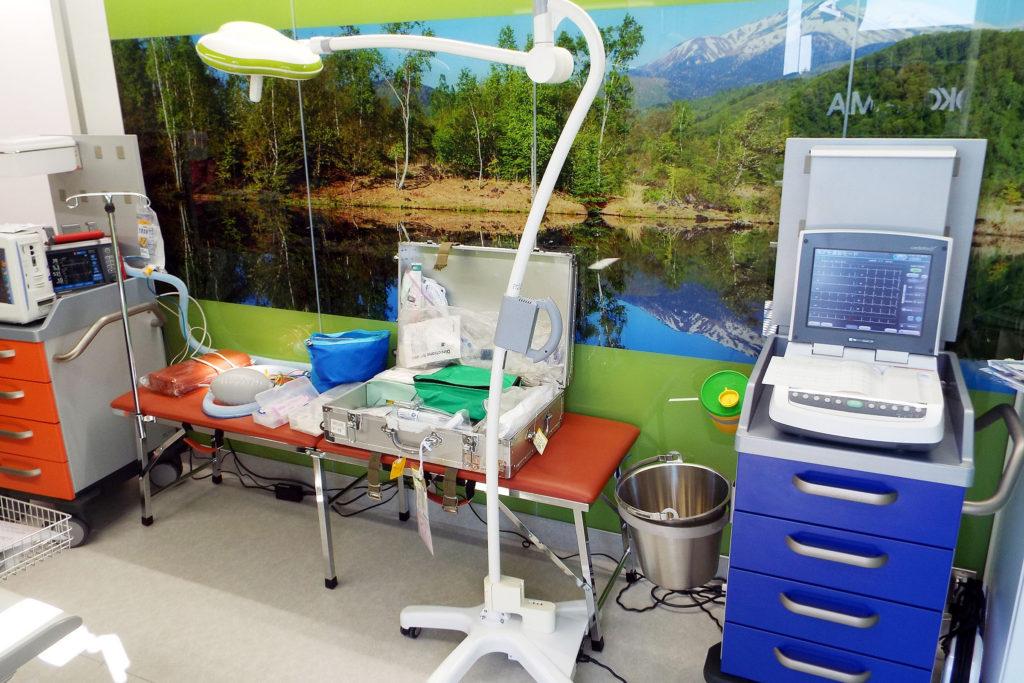 充実の医療機器